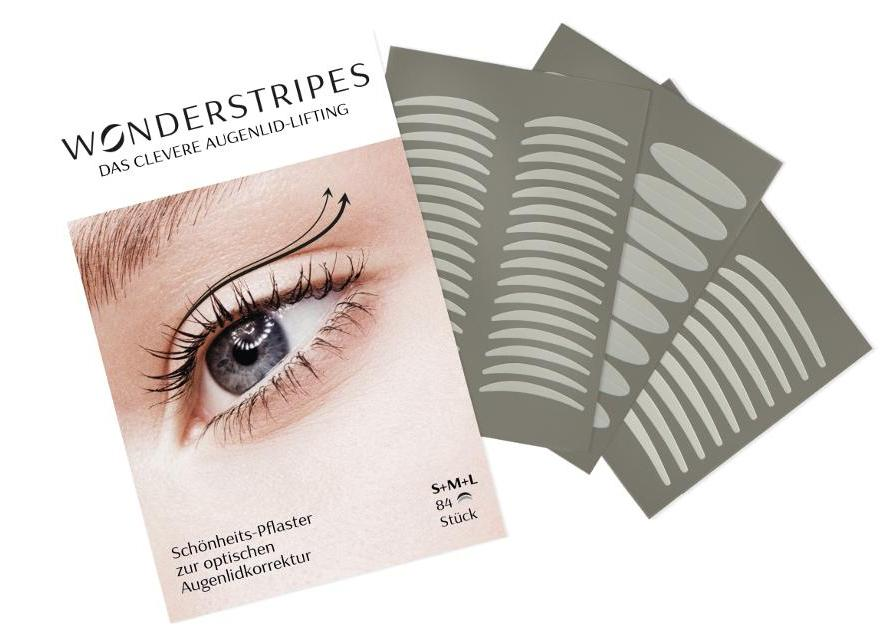 Wonderstrips – die günstige und einfache Alternative bei Lidstraffung ohne OP